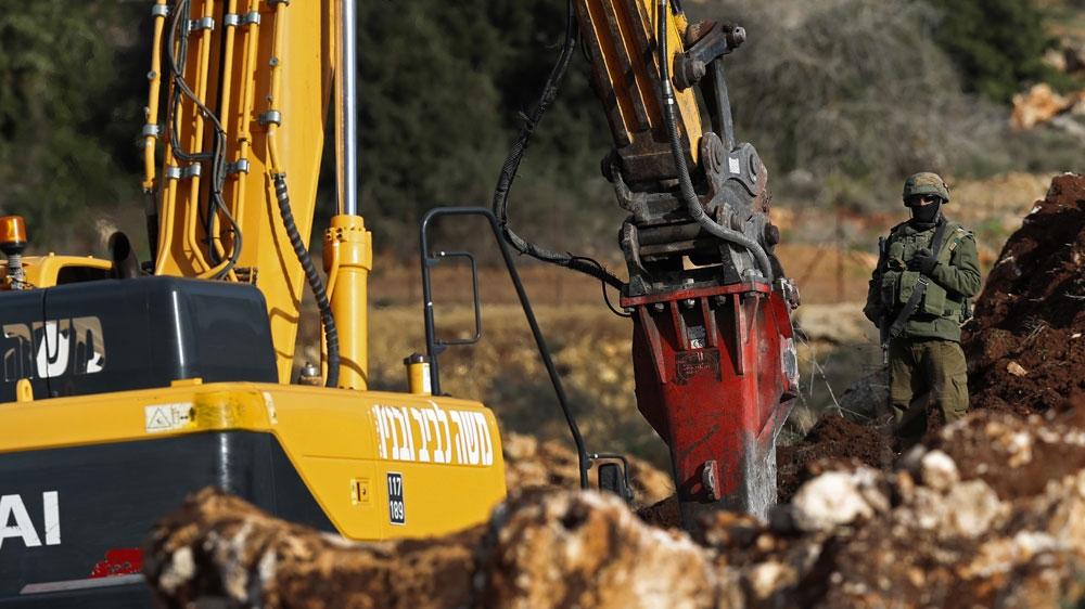Lebanon's border tense as Israel excavates 'Hezbollah