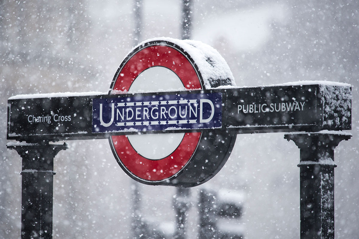 February - London was just one city affected by the severe winter storm that moved through the UK at the end of the month. The storm brought widespread wins damage, travel and power disruption for many areas. [Alex Burstow/Getty]