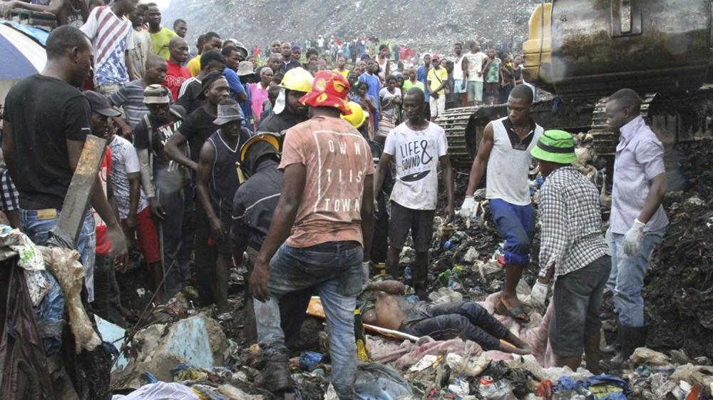 Mozambique dump collapse: 17 dead, homes destroyed