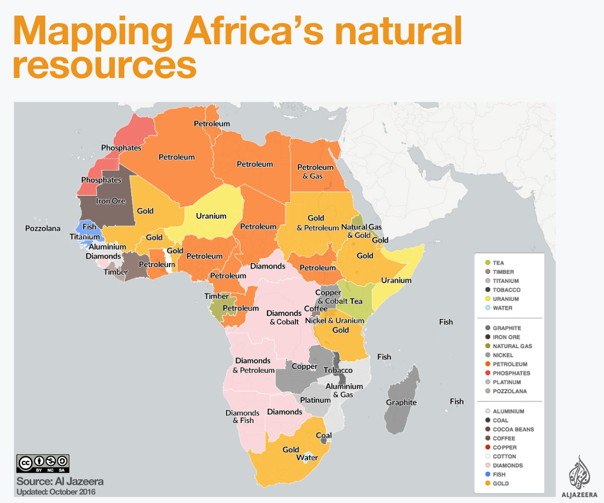 mapping africas natural resources