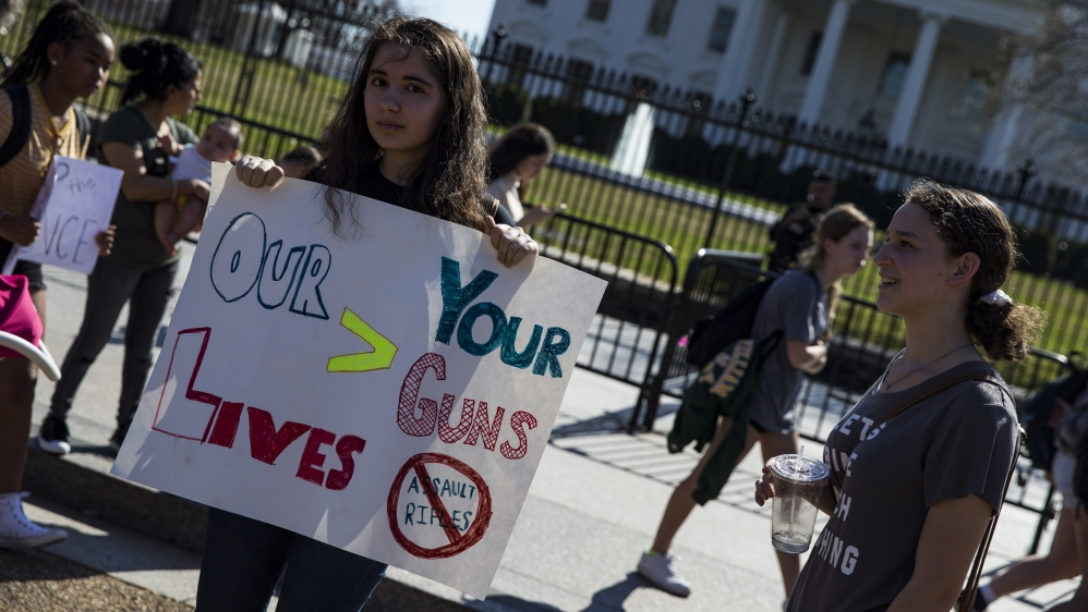 Is this a watershed moment for gun control in the US?