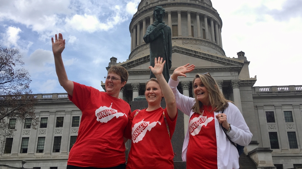 West Virginia teachers end four-day strike after pay raise agreement