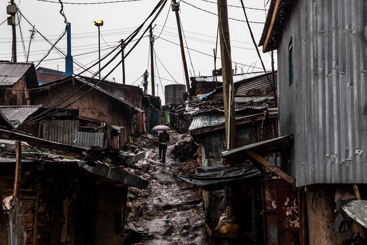 In Kibera Women And Children Bear Brunt Of Heavy Rains