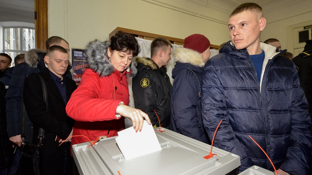 Big Turnout In Tunisia >> Russia elections: Polls open amid low turnout fears   News   Al Jazeera