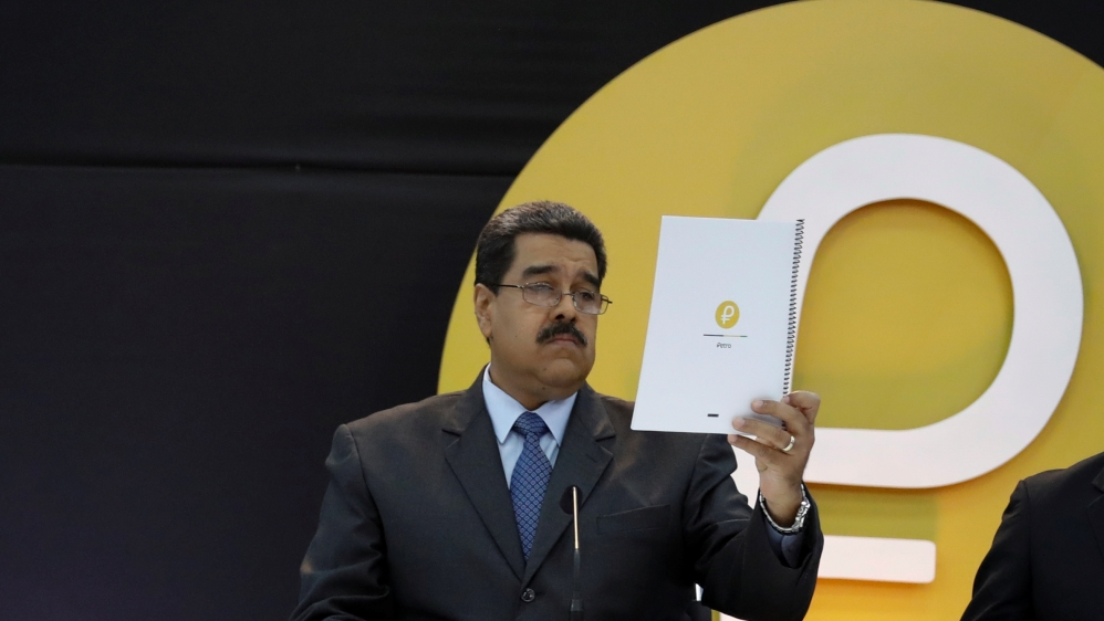 Trump bans US purchases of Venezuela's cryptocurrency Petro | Al Jazeera