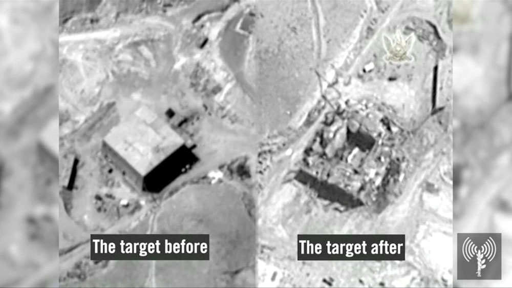 Israel confirms bombing Syria nuclear reactor...