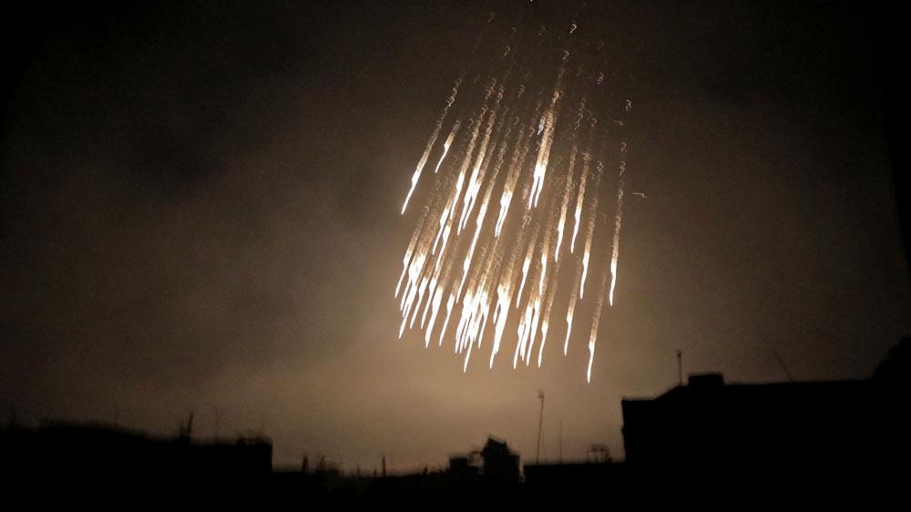 'Dozens burned to death' in Syrian regime strikes on East Ghouta   Al Jazeera