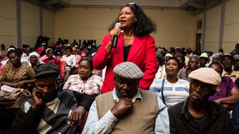 Mujuru Spokesperson New Mugabe Party Spokesperson