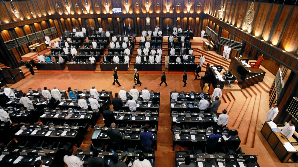 Image result for Sri Lankan President Suspends Parliament For One Month