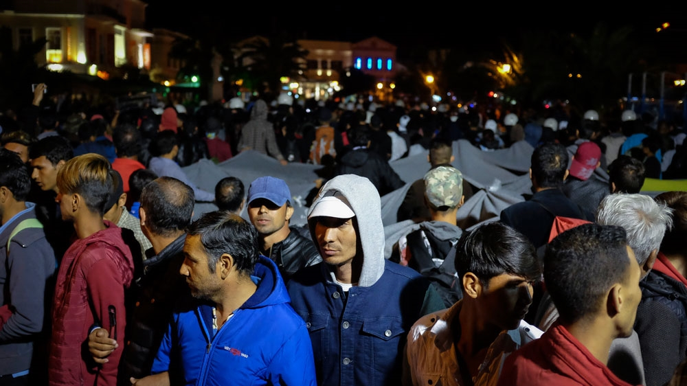 Far-right attacks increase tension in Greece's Lesbos