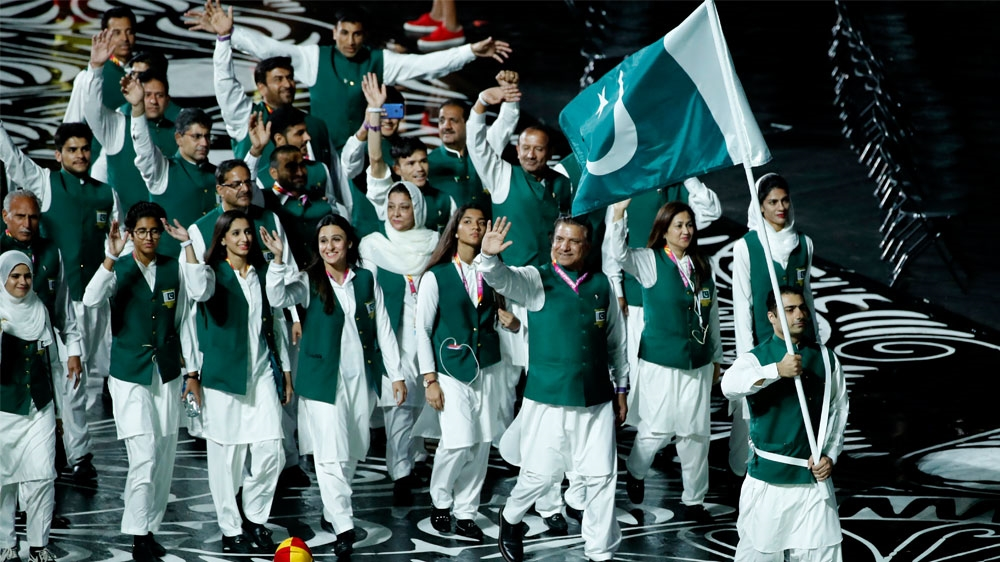 Former British colonies like Pakistan compete at the Games