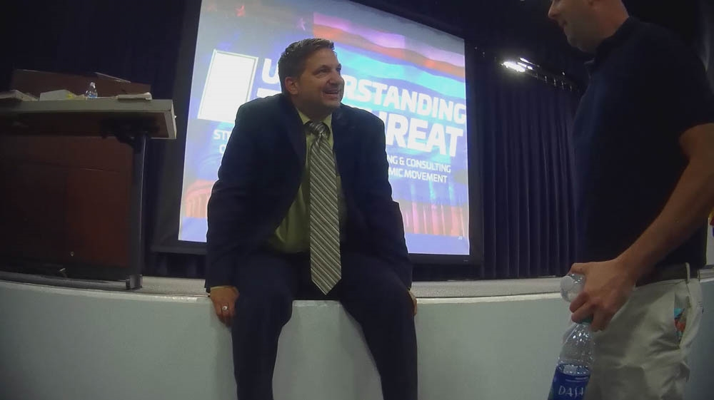 Ex-FBI agent caught teaching police Islamophobic ideas