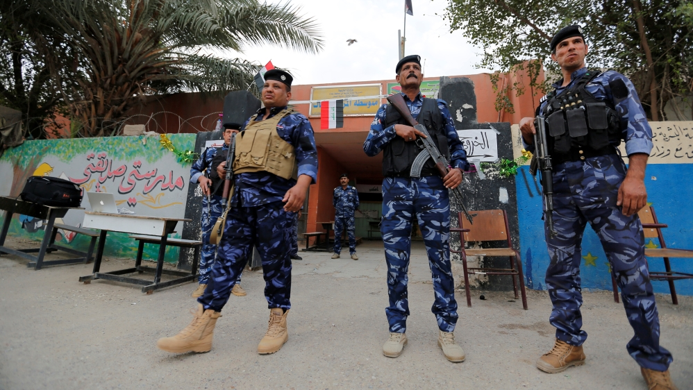 Iraq's election commissioner says turnout 44 pct