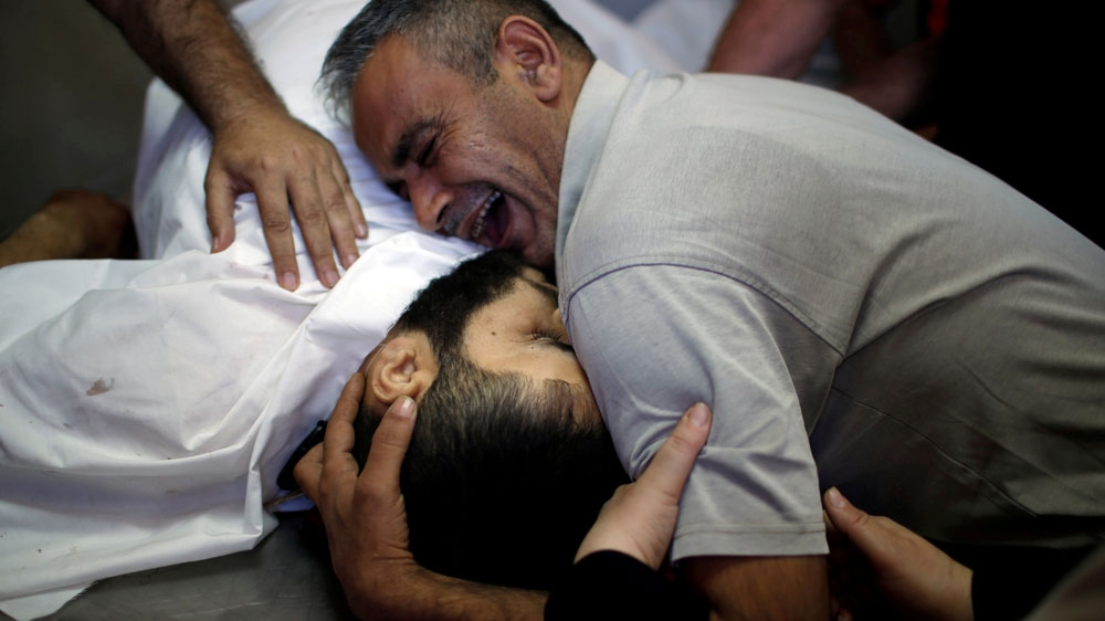 'He was my whole world': Palestinians mourn killing of loved ones