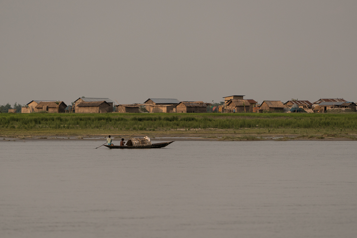 Eight percent of Assam's 30 million population call the river islands their home. [Al Jazeera]