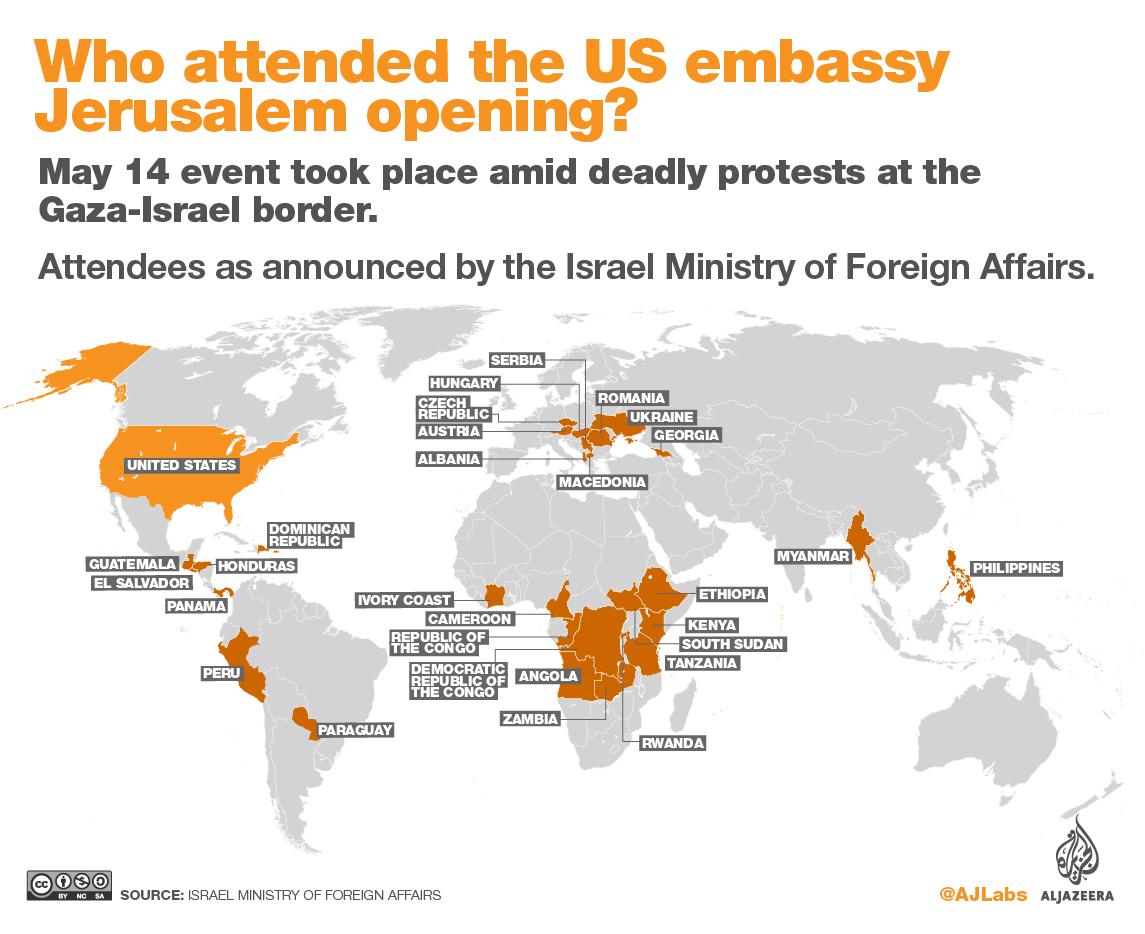 エルサレムにアメリカ大使館開設...