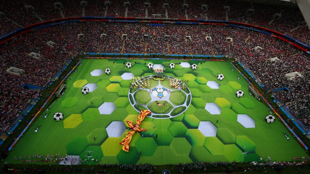 The opening ceremony of the 2018 World Cup thumbnail