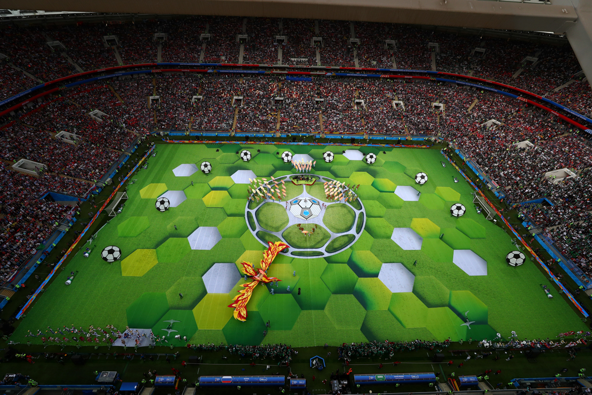 2018 FIFA World Cup Opening Ceremony 59