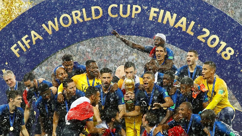 """Résultat de recherche d'images pour """"FOOTBALL, france, winner, russia, 2018"""""""
