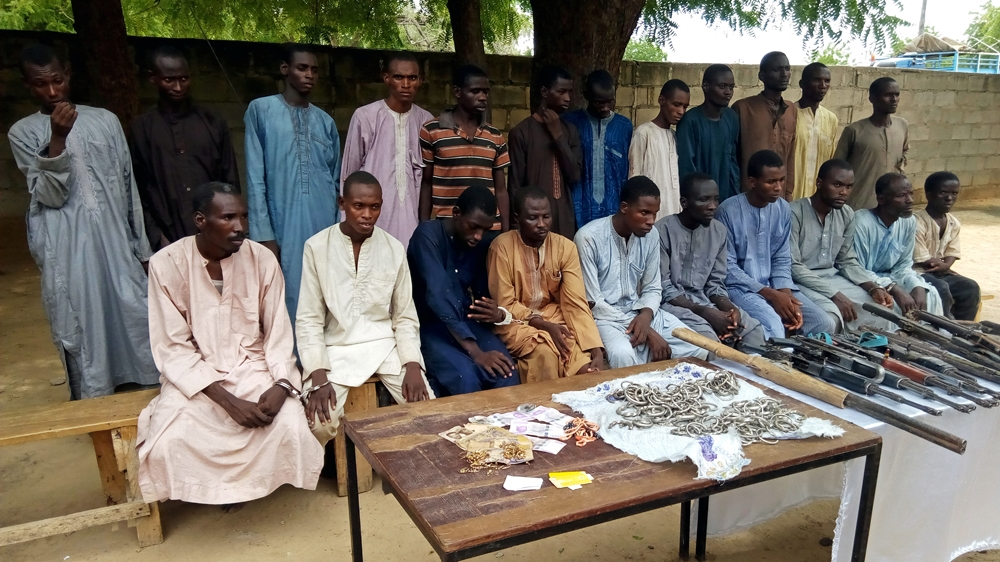 Nigeria captures Boko Haram fighters who...