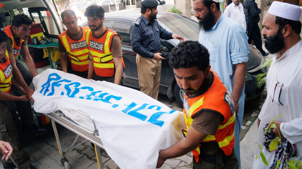 Pakistan election candidate killed in suicide attack