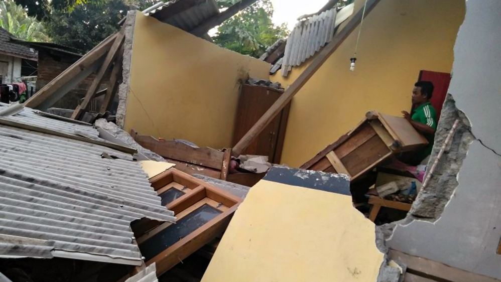 Indonesia is frequently hit by quakes