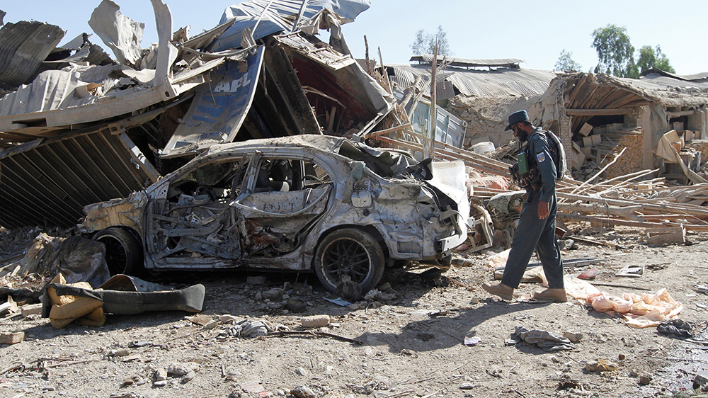 Brief Nach Afghanistan : Afghanistan life under attack al jazeera