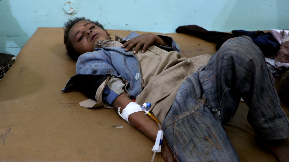'Where are my brothers?' pleads Yemen school bus attack survivor