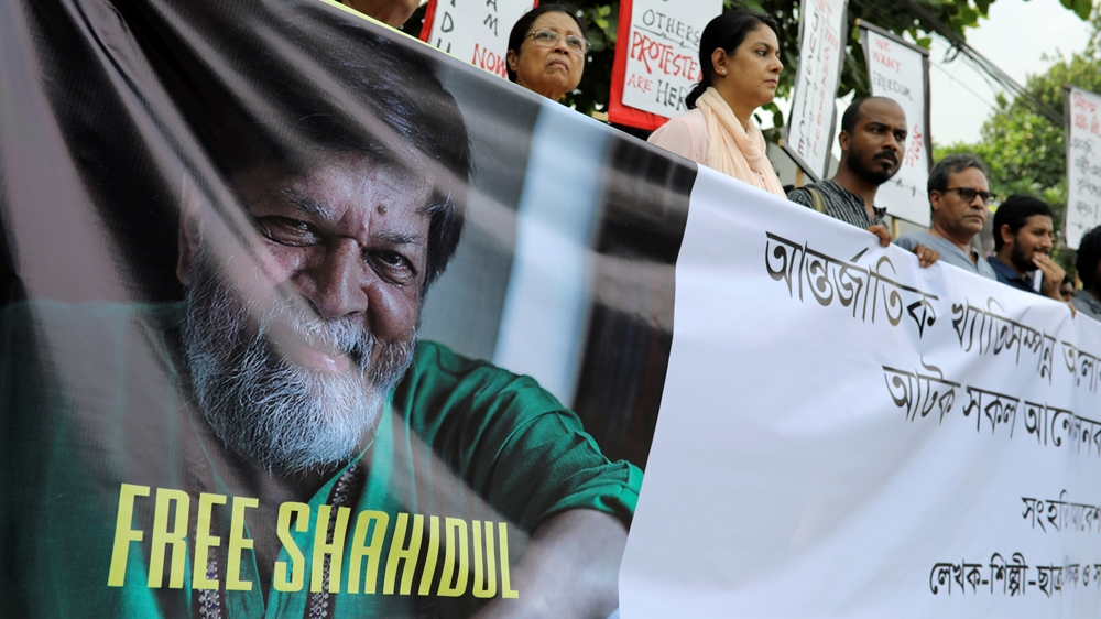 QnA VBage At Dhaka literature event, 'silence' over Shahidul Alam's arrest