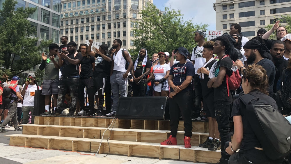 Unite the Right 2018': Anti-racists outnumber far right in DC | Far