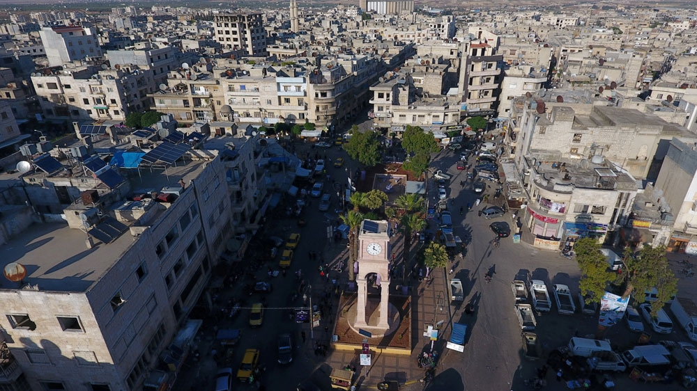 Panoramica di Idlib città. Credits to: Ammar Abdullah/Reuters.
