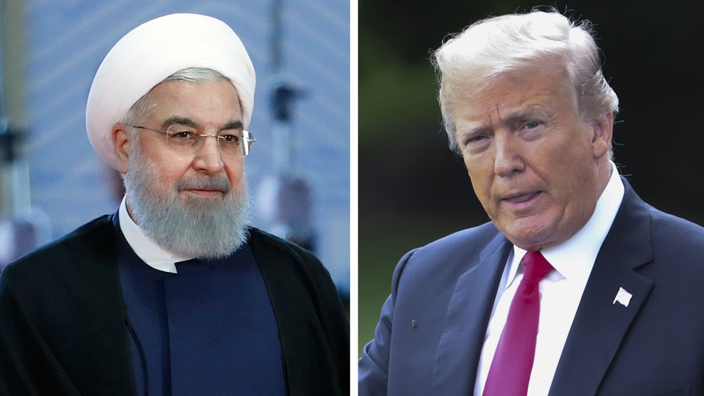 Iran's Rouhani: Donald Trump will fail just like Saddam Hussein
