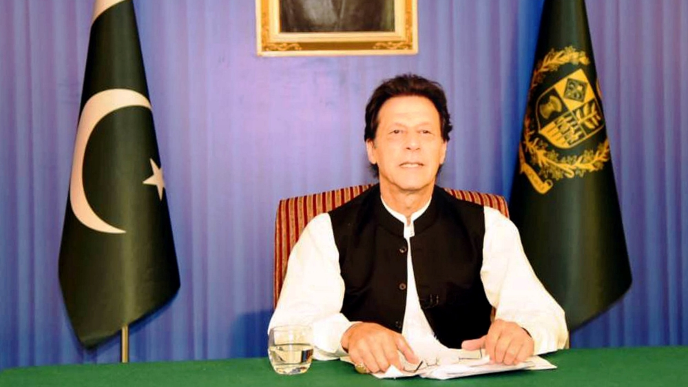 Imran Khan vows to cut government expenses, tackle corruption