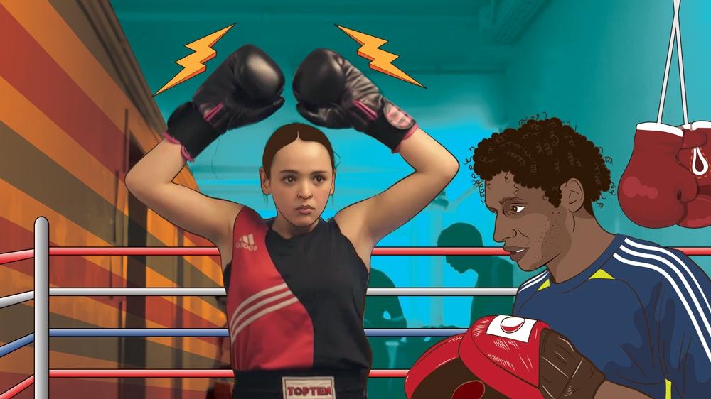 Salma the Boxer: Fighting back in Molenbeek   Morocco   Al