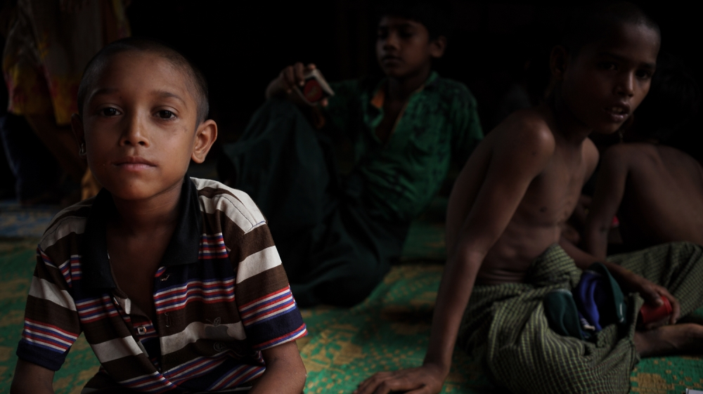 'Remembering how to be children': Young Rohingya overcome trauma thumbnail