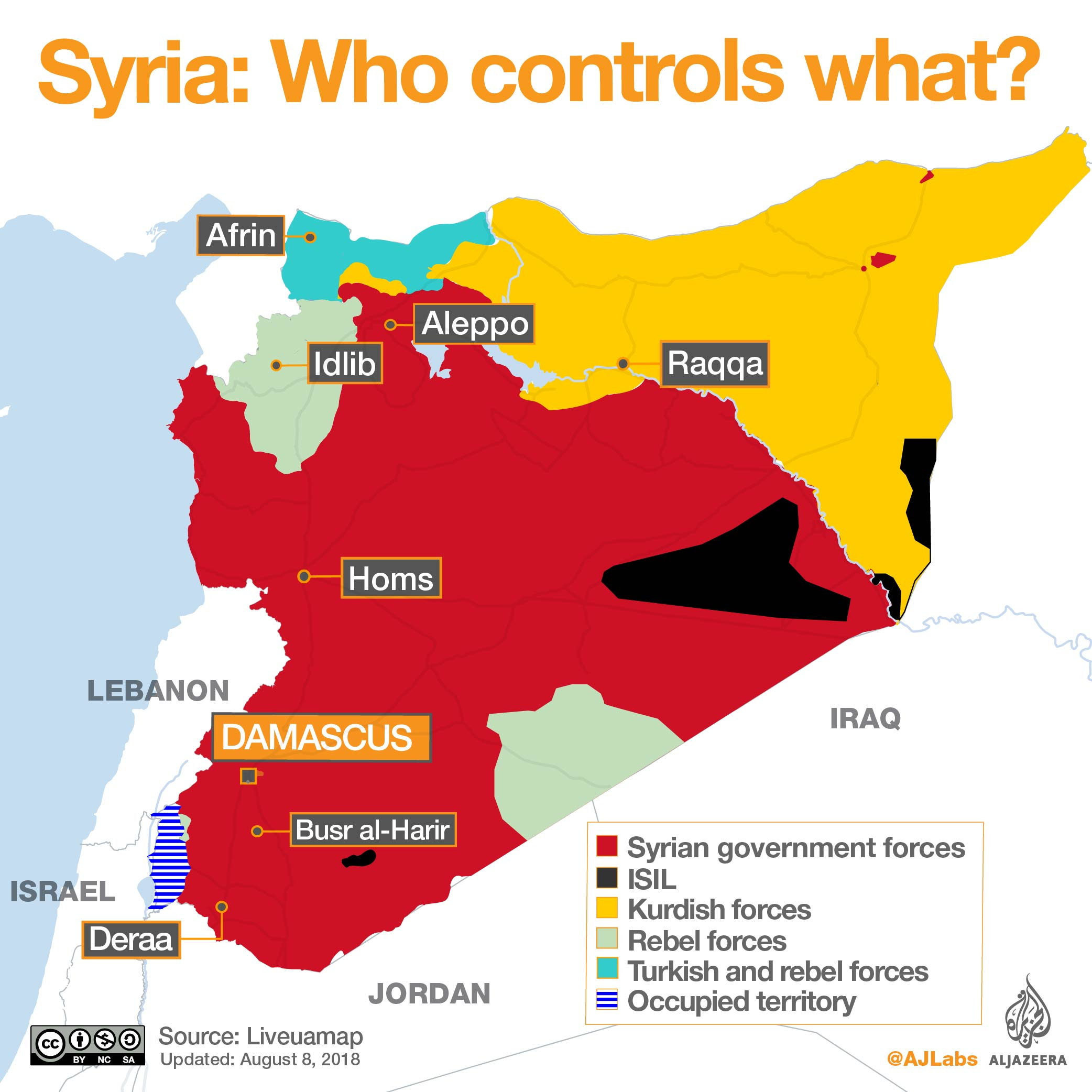 Syrias war who controls what al jazeera a government offensive at the end of july in southwest syria took much of the eastern part of deraa province from rebels after a bombardment that the united gumiabroncs Image collections