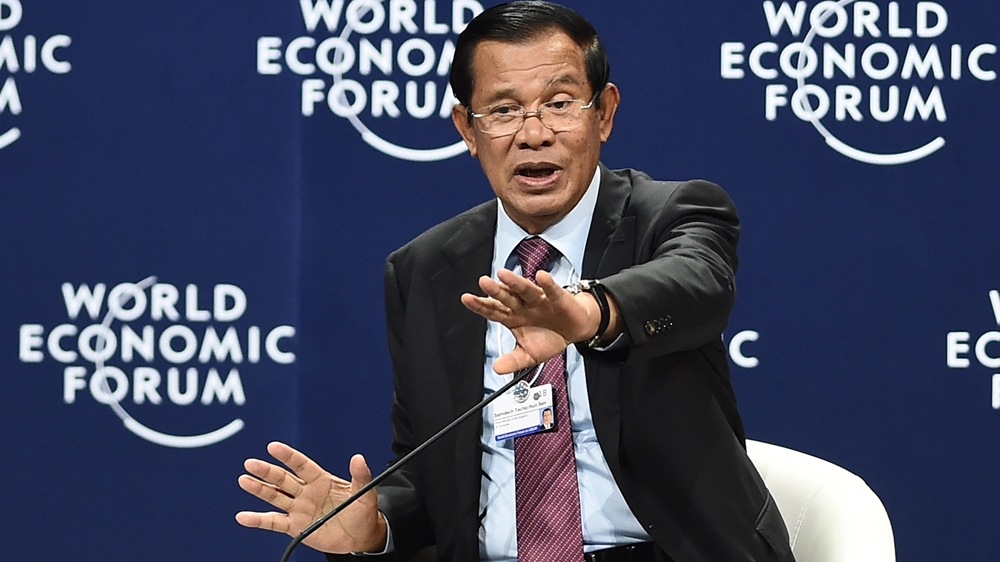 Cambodia's Hun Sen tells world: Leave Indochina alone