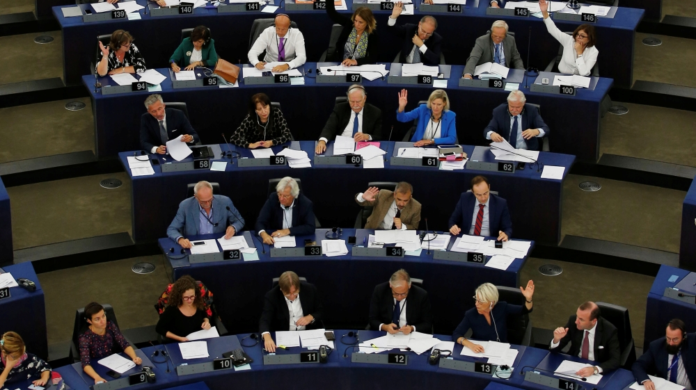 European Union  parliament votes to stop Hungary 'threat' to democracy