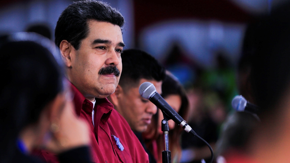 Venezuela's Maduro: US planning to assassinate me