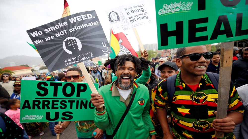 SAfrica's top court legalizes personal, private cannabis use