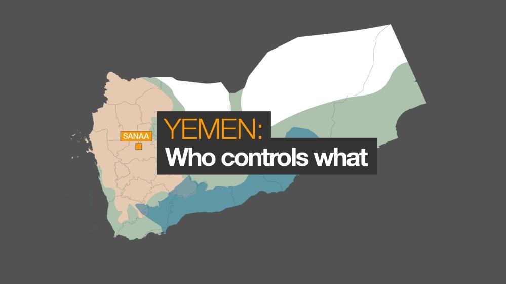 Yemen conflict: Who controls what     Al Jazeera on eritrea map, oman map, kenya map, zimbabwe map, burma map, malawi map, madagascar map, united arab emirates map, syria map, senegal map, asia map, egypt map, qatar map, algeria map, mali map, niger map, iraq map, israel map, middle east map, burundi map, north africa map, namibia map, somalia map, nepal map, sudan map, mozambique map, hungary map, persian gulf map, liberia map, angola map, morocco map, cameroon map, rwanda map, libya map, tunisia map, saudi arabia map,