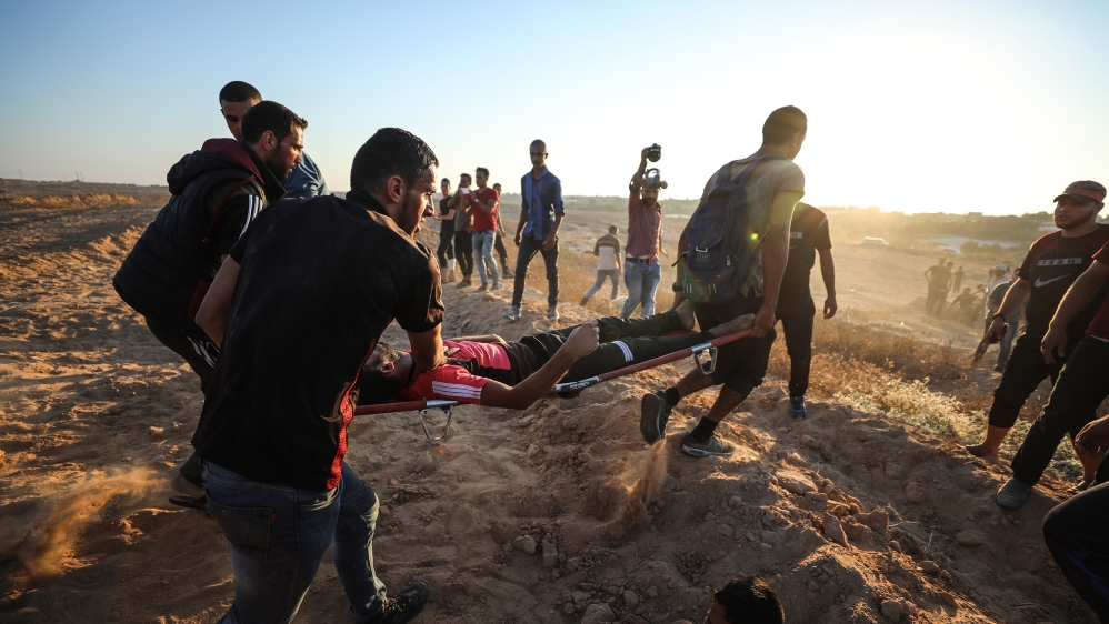 Gaza: Palestinian teenager shot dead by an Israeli sniper
