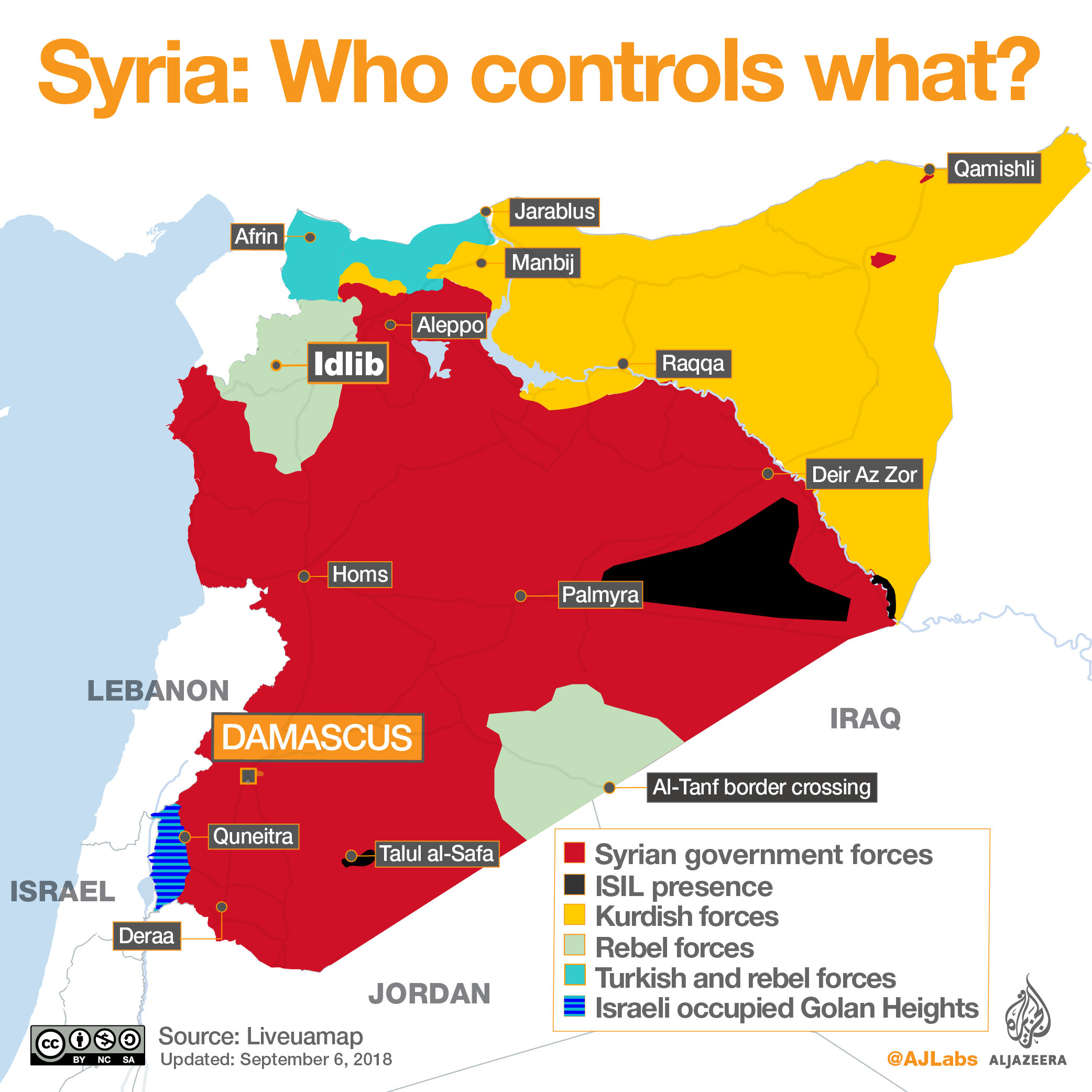 Syrias war who controls what al jazeera a government offensive at the end of july in southwest syria took much of the eastern part of deraa province from rebels after a bombardment that the united gumiabroncs Choice Image
