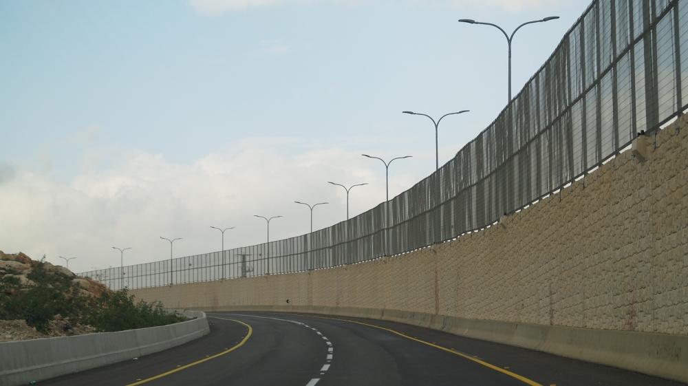 Israel opens 'Apartheid road' in occupied West Bank