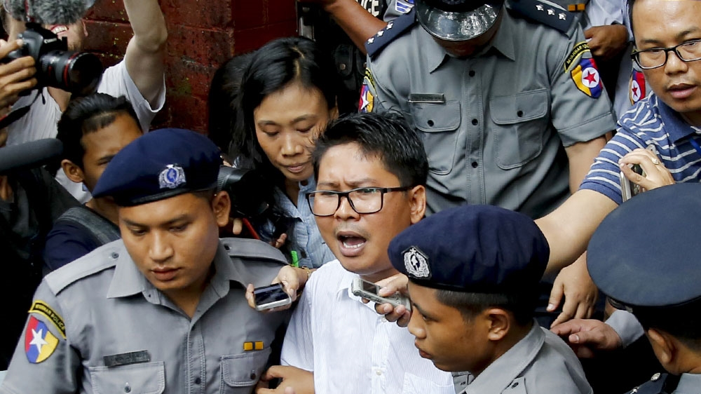 Myanmar court rejects appeal by jailed Reuters journalists thumbnail