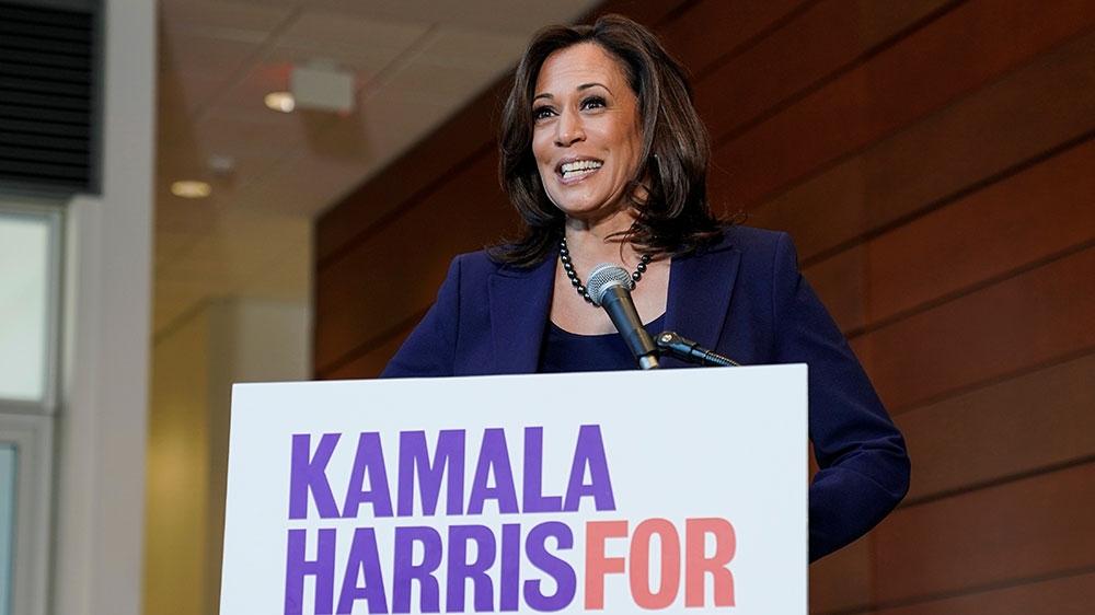 Democratic Senator Kamala Harris announces US presidency bid