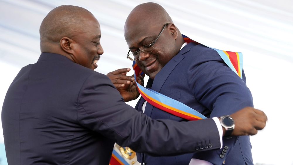 Opposition leader Tshisekedi Sworn in as DR Congo president