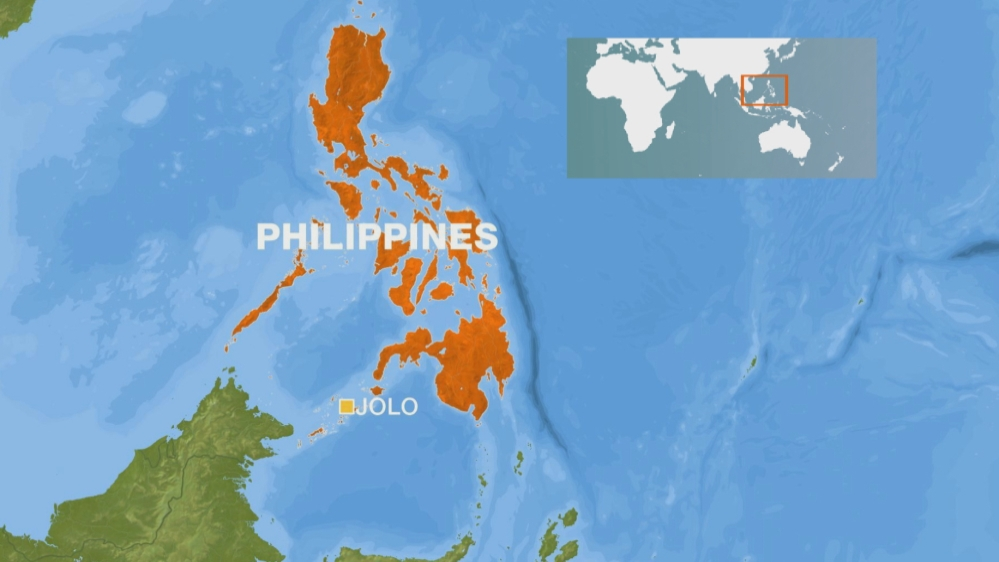 10 dead, dozens wounded in twin bombing in Philippines