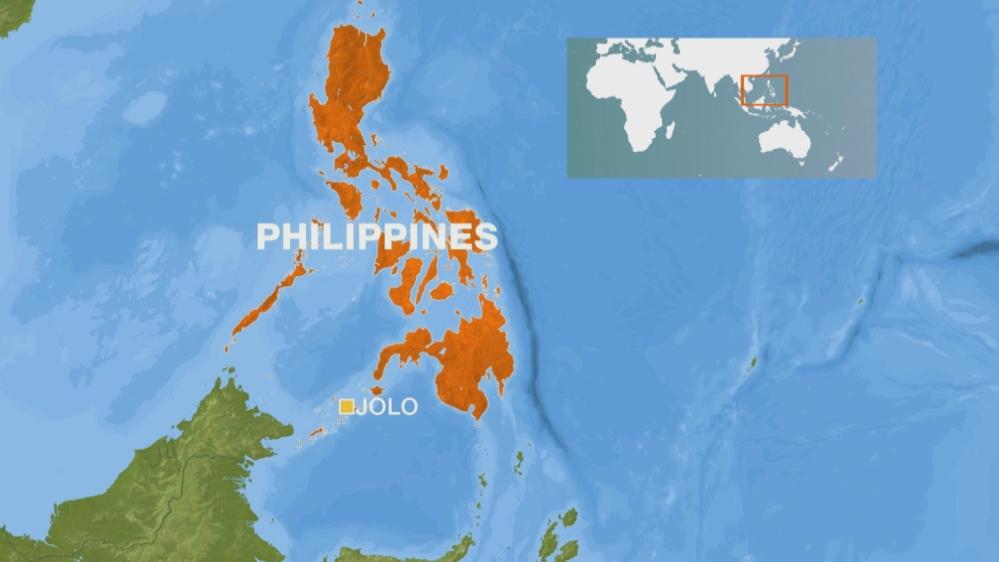 Philippines Jolo map