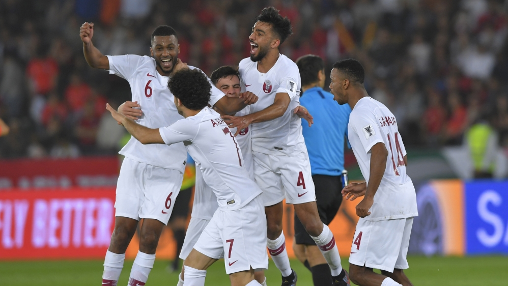 Qatar thrash UAE to reach Asian Cup football final